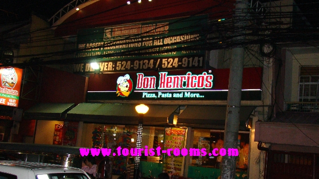 DON HENRICO'S PIZZA AND PASTA  AT MALATE MANILA