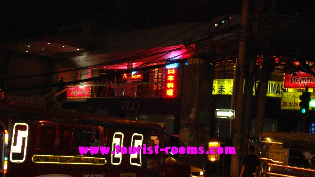 NIGHTLIFE SCENERY AND KTVS AT MALATE MANILA