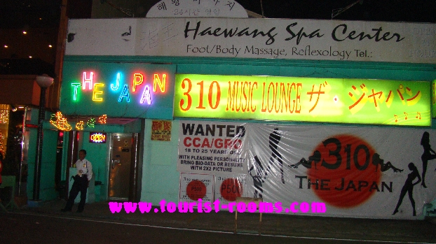HAEWANG SPA AND THE JAPAN KTV CLUB AND CLUB 310 MUSIC LOUNGE AT MALATE MANILA.