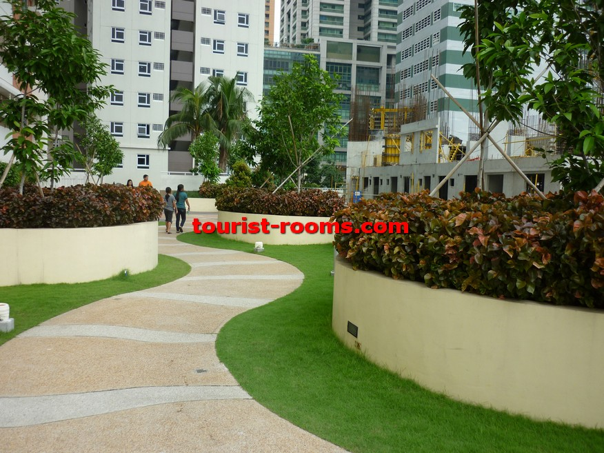 PATHWAY AND GARDEN AT GATEWAY GARDEN HEIGHTS,GATEWAY GARDEN HEIGHTS,MANILA APARTMENTS FOR RENT,APARTMENT NEAR BONI MRT STATION FOR RENT,APARTMENT NEAR FORUM ROBINSONS MALL FOR RENT,APARTMENT AT MANDALUYONG FOR RENT,MANDALUYONG APARTMENT,MANDALUYONG APARTMENT FOR RENT
