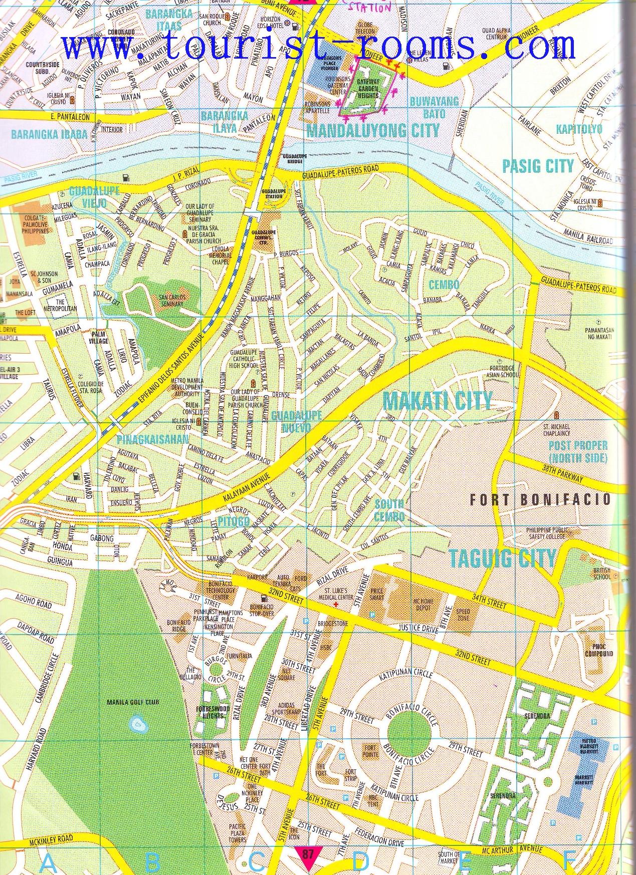 Location Map Of Gateway Garden Heights Condominium Apartment